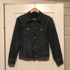 Gap women's stretch jean jacket